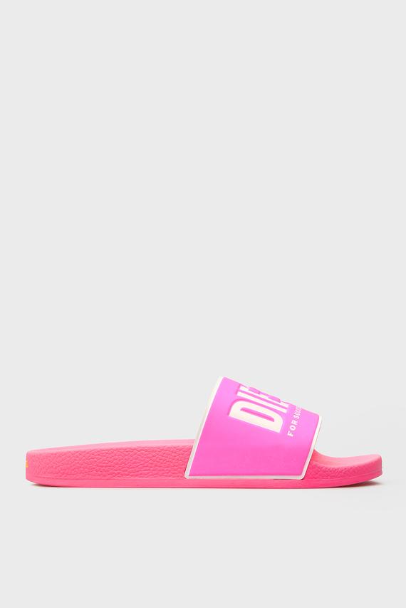Женские розовые слайдеры VALLA