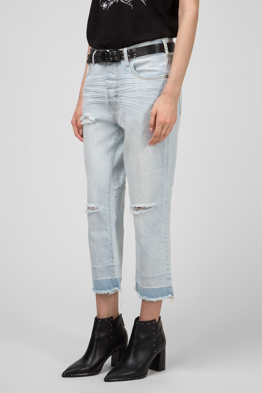 Женские голубые джинсы BRANDO HOOLIGANS