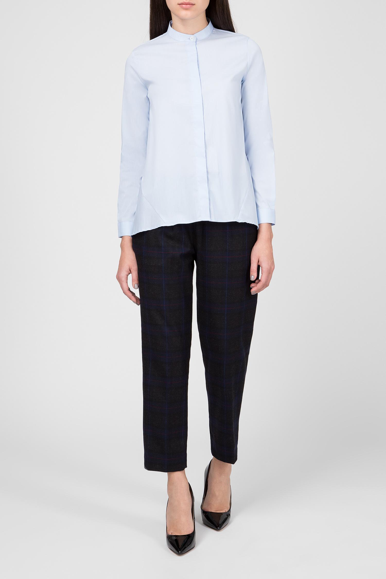 Женская голубая блуза CAMICIA Skills & Genes
