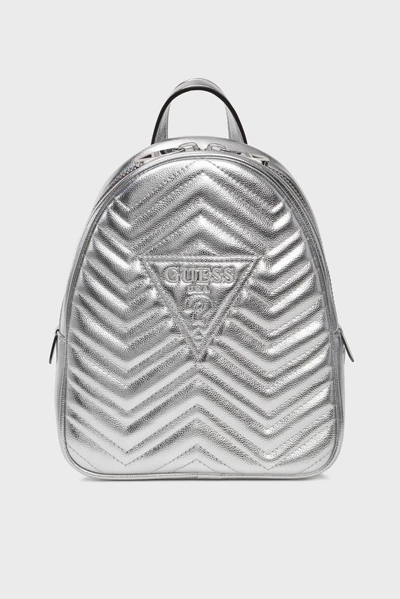 Женский серебристый рюкзак ZANA