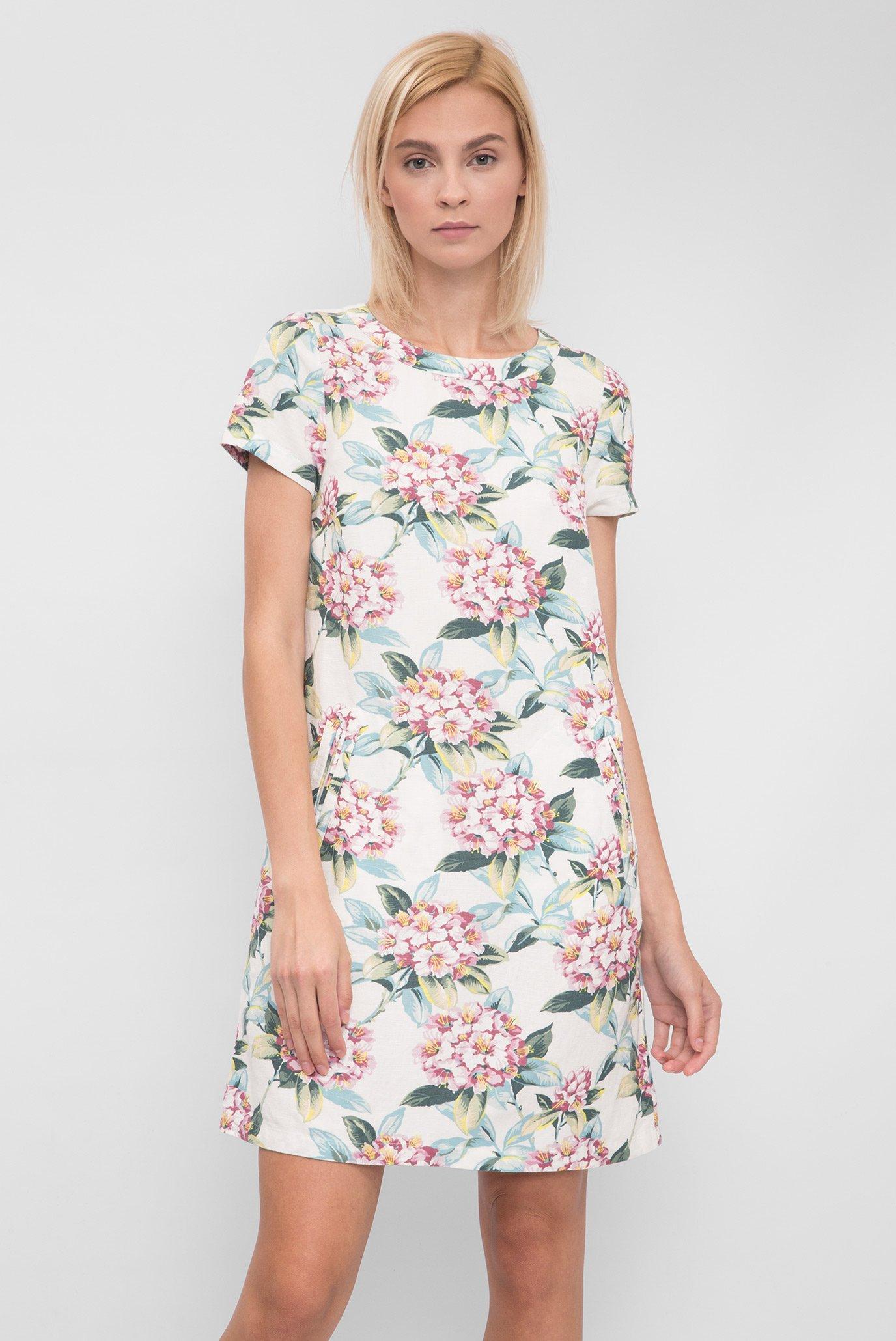 6407e056aa7cd75 Купить Женское белое льняное платье Gant Gant 450048 – Киев, Украина. Цены  в интернет магазине MD Fashion