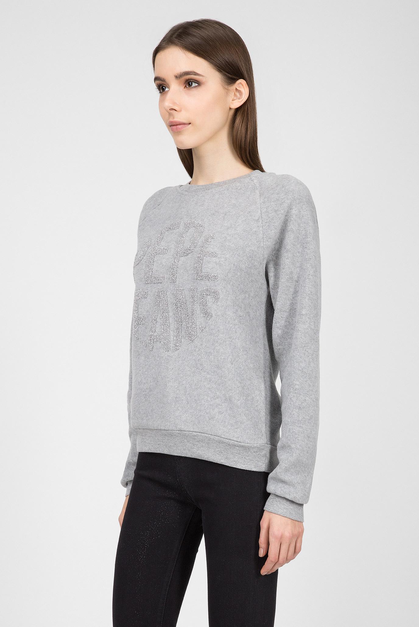 Купить Женский серый свитшот CAMERON Pepe Jeans Pepe Jeans PL580748 – Киев, Украина. Цены в интернет магазине MD Fashion