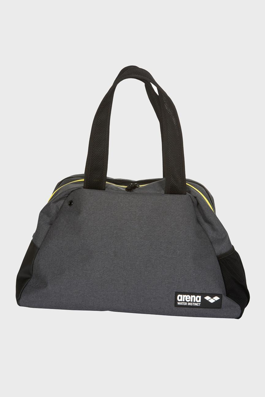 Серая спортивная сумка FAST