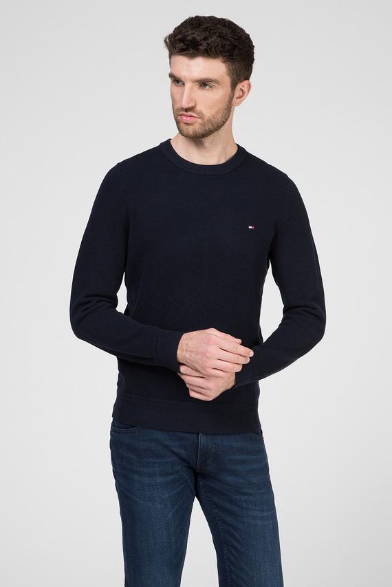 Мужской темно-синий джемпер RICECORN CREW NECK