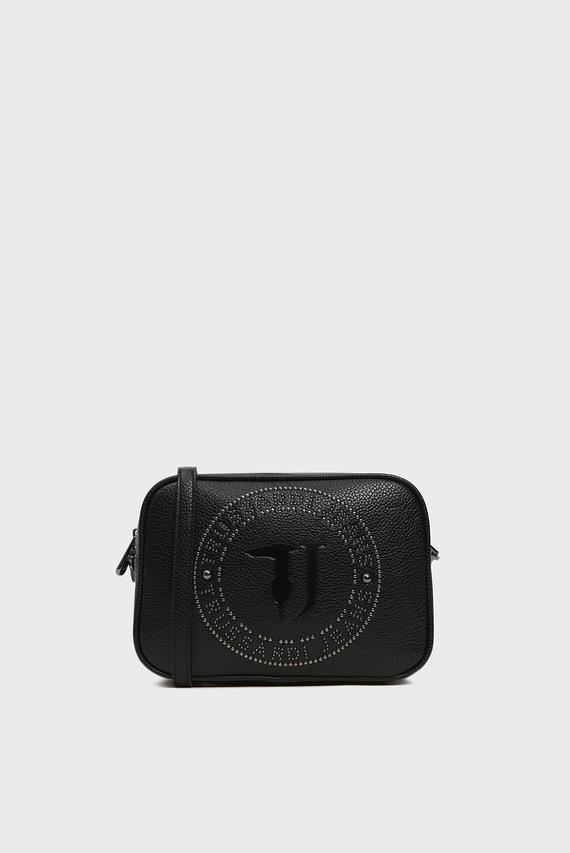 Женская черная сумка через плечо HARPER CAMERA CASE TUMBLED