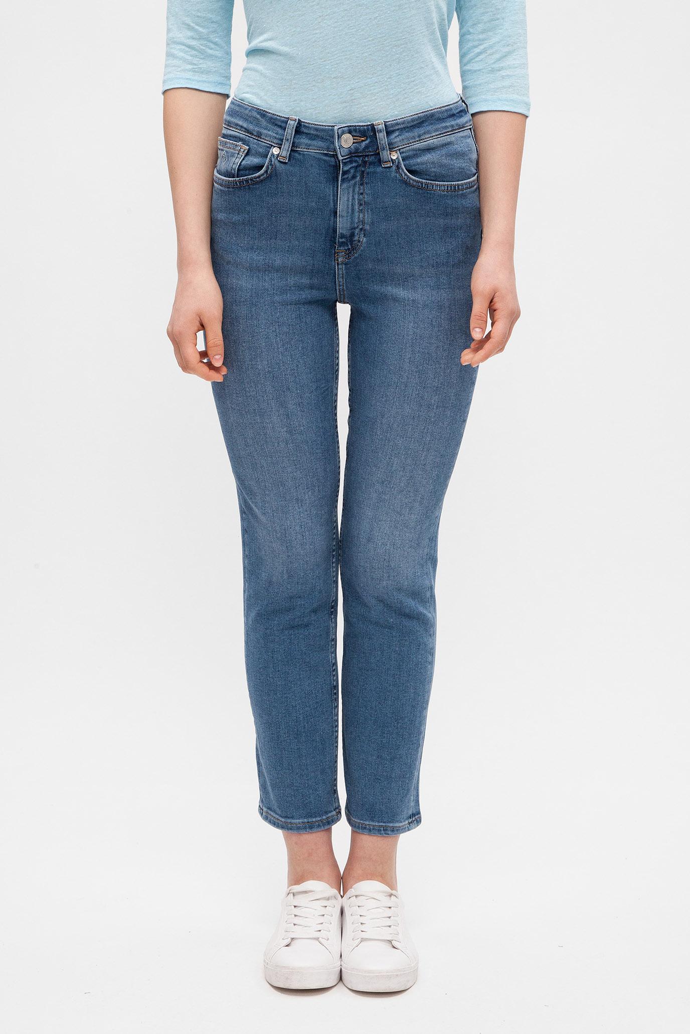 Купить Женские синие джинсы CROPPED HW DENIM JEANS Gant Gant 4100048 – Киев, Украина. Цены в интернет магазине MD Fashion
