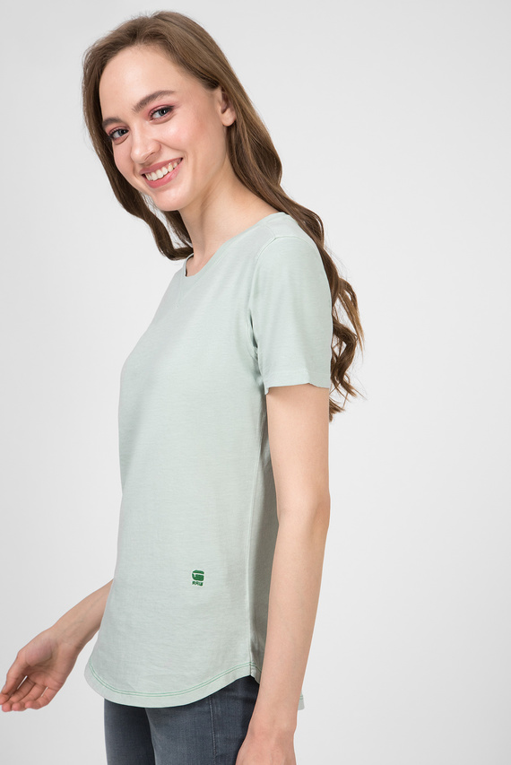 Женская мятная футболка Mysid