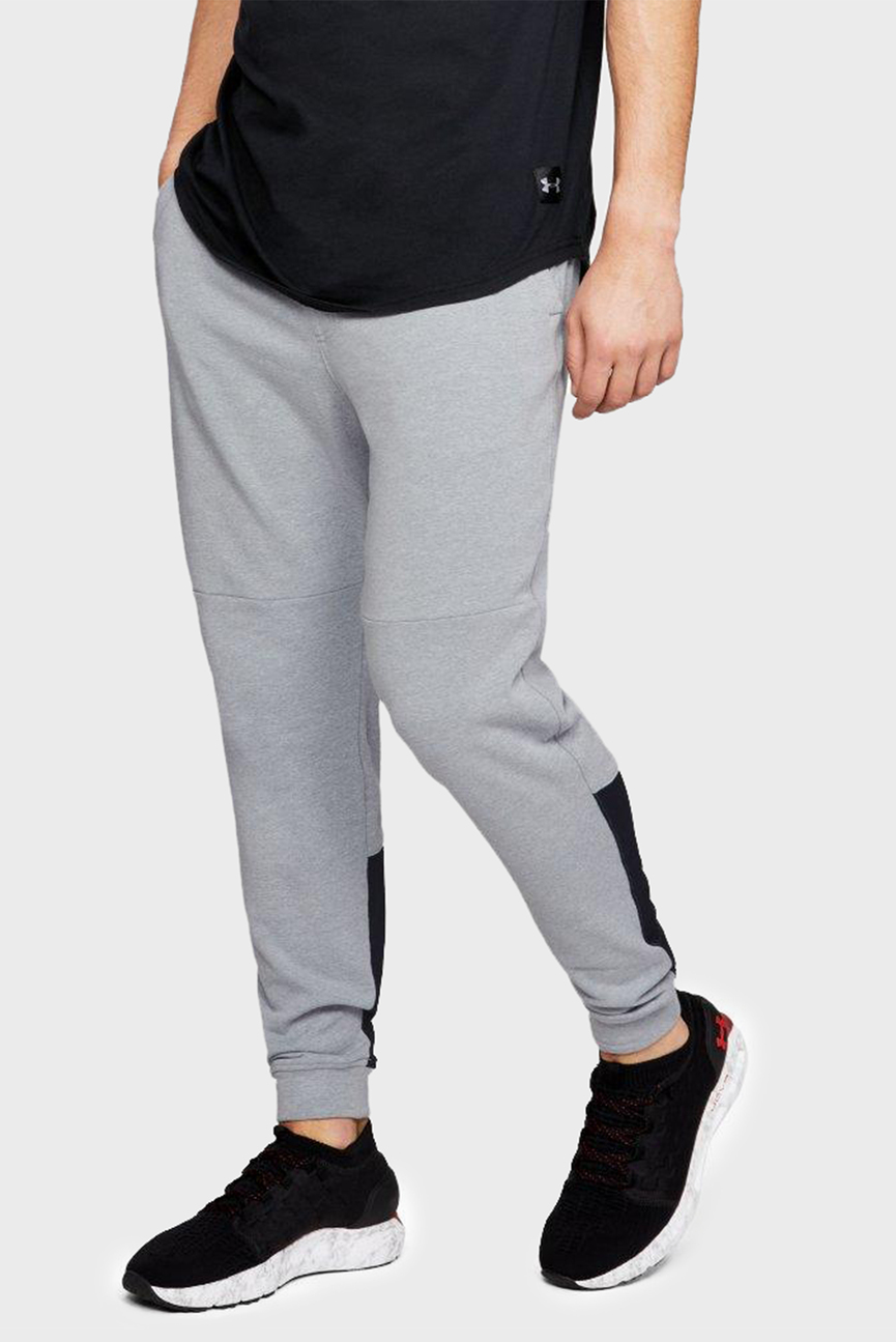 Мужские серые спортивные брюки TB TERRY JOGGER