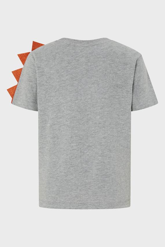 Детская серая футболка FELIX FIRE DINO TEE