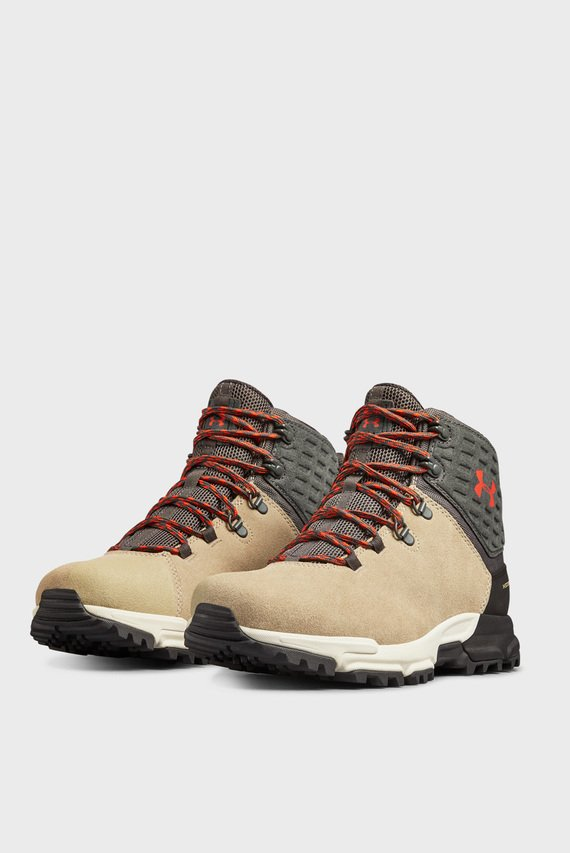 Мужские бежевые ботинки UA Brower Mid WP