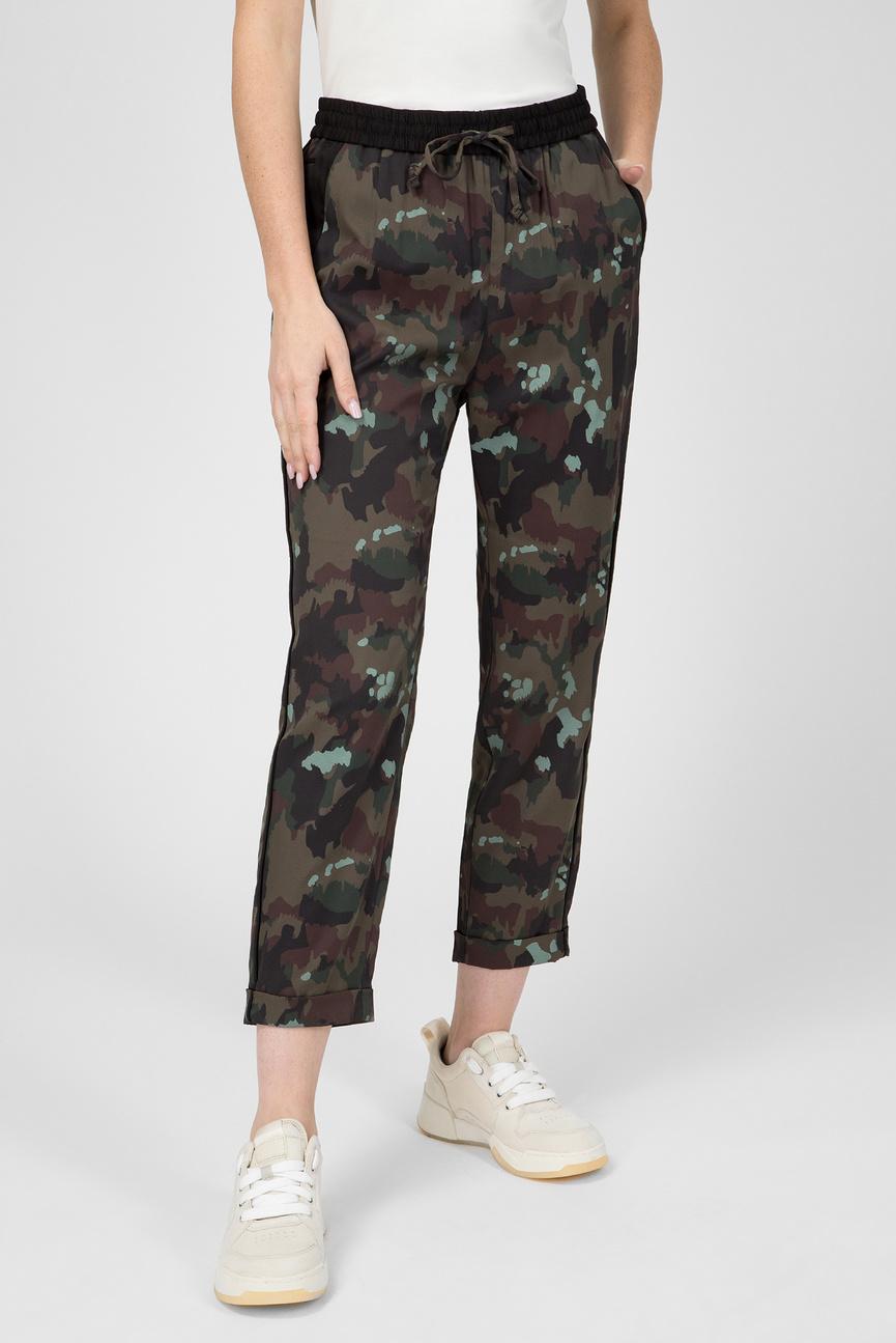 Женские зеленые брюки Bronson