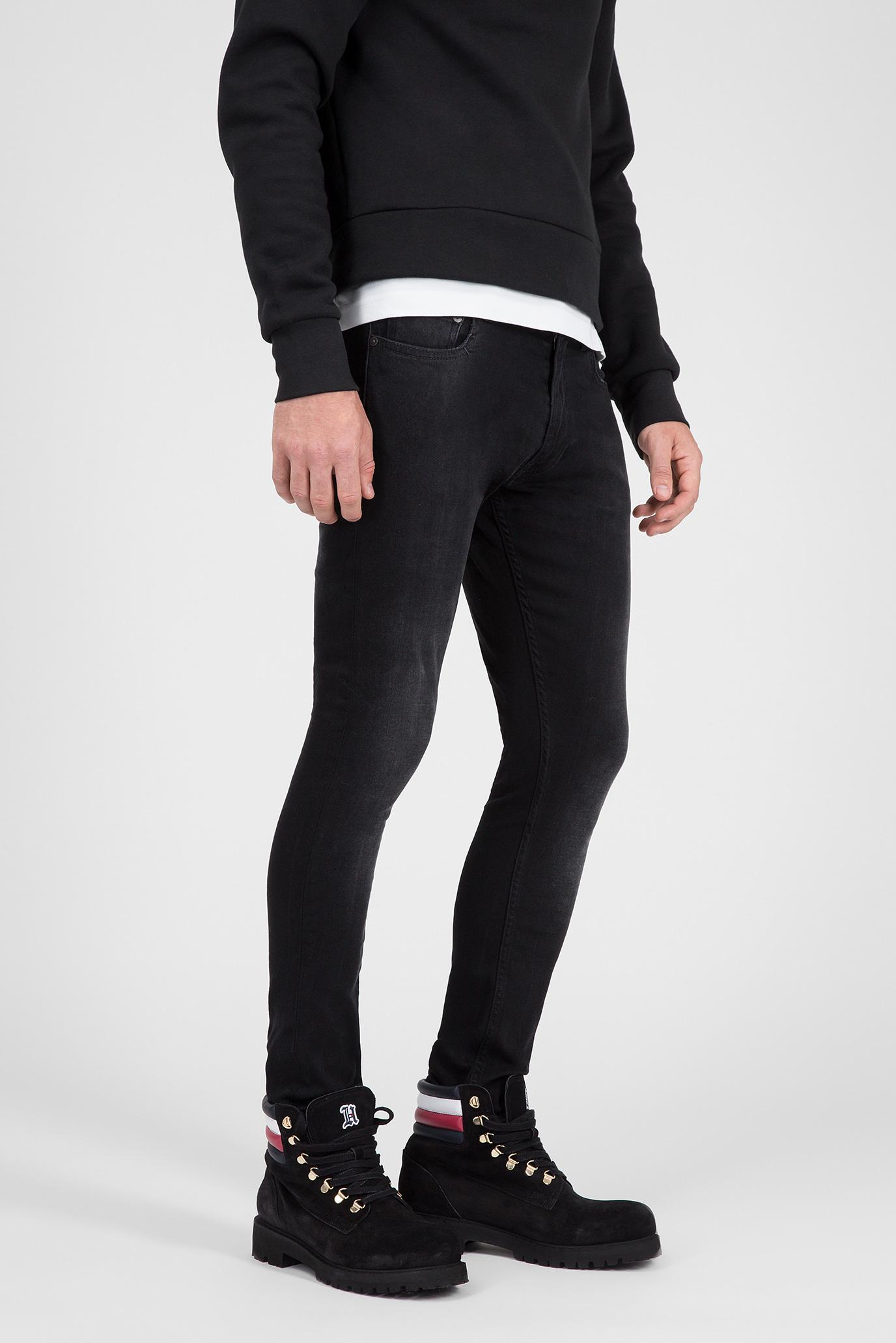 Купить Мужские черные джинсы LEWIS HAMILTON BLACK STONE Tommy Hilfiger Tommy Hilfiger MW0MW08604 – Киев, Украина. Цены в интернет магазине MD Fashion