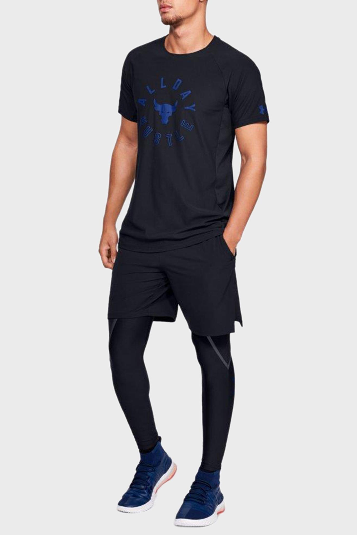 Купить Мужская черная футболка PROJECT ROCK VANISH Under Armour Under Armour 1330916-001 – Киев, Украина. Цены в интернет магазине MD Fashion
