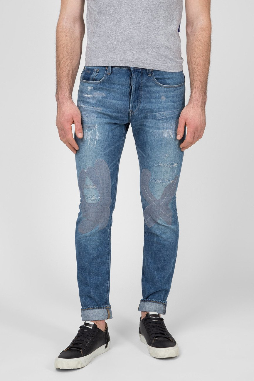 Мужские синие джинсы 3301