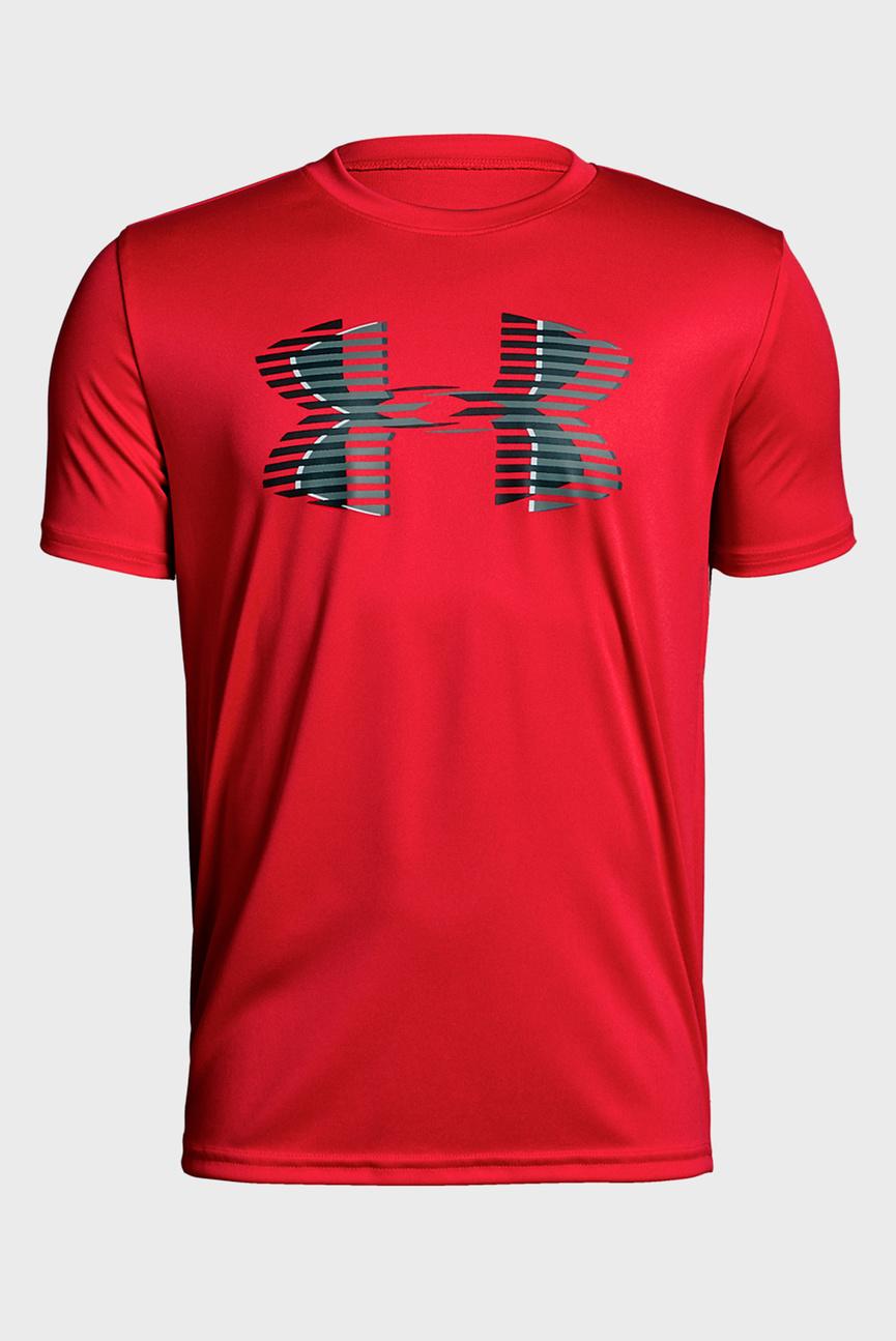 Детская красная футболка Tech Big Logo Solid Tee
