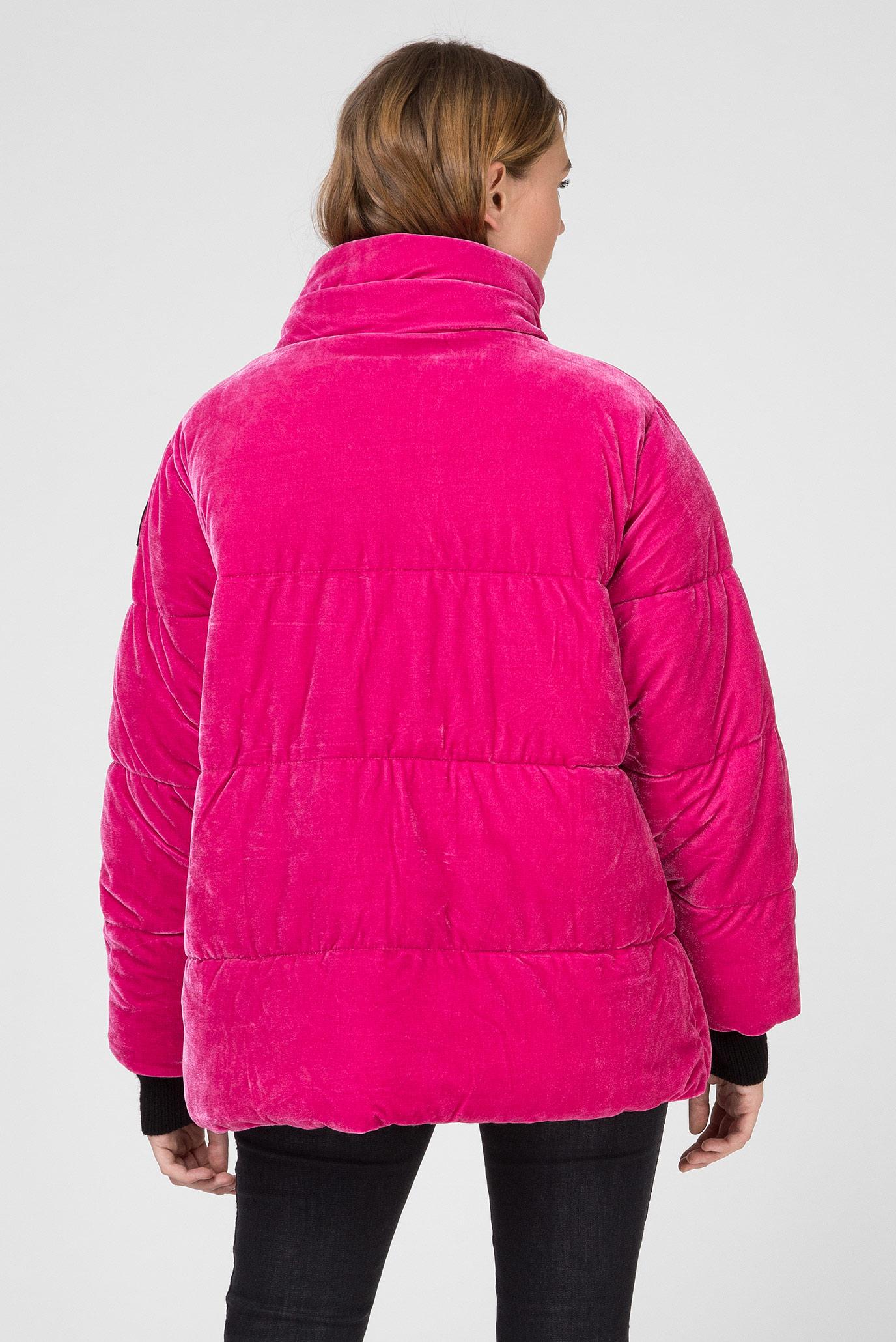 Женская розовая бархатная куртка Replay