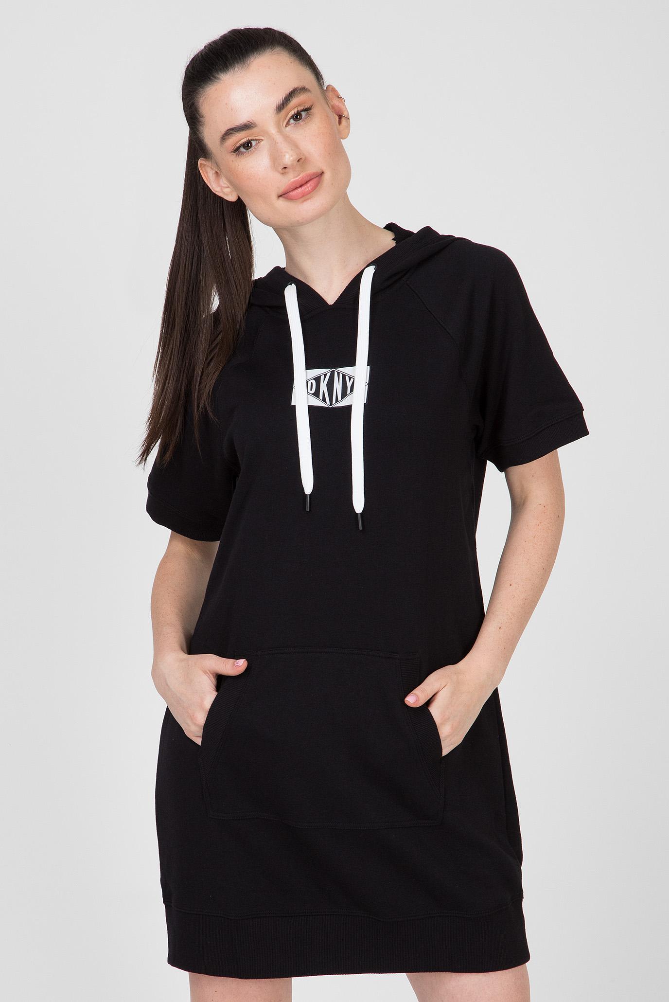Купить Женское черное платье SS SNEAKER DKNY DKNY DP9D4059 – Киев, Украина. Цены в интернет магазине MD Fashion
