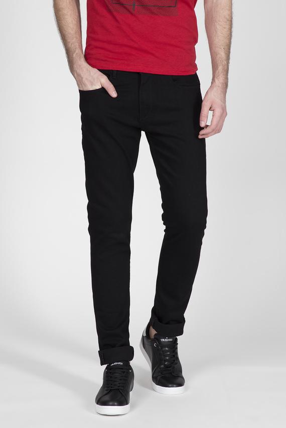 Мужские черные джинсы 370 EXTRA SLIM DENIM