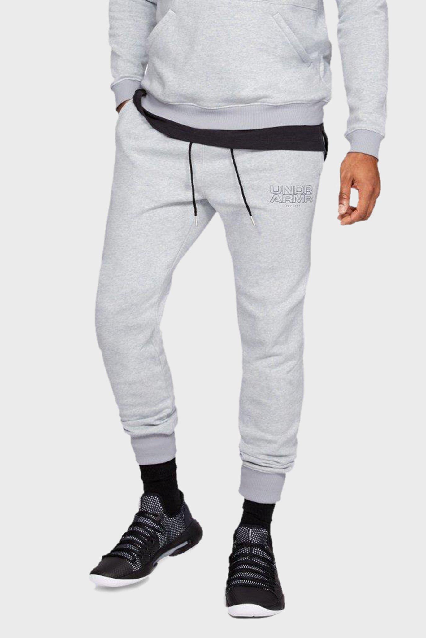 Чоловічі сірі спортивні штани Baseline FLC Tapered Pant 1