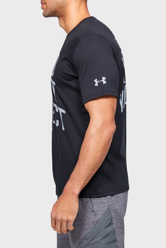 Мужская черная футболка с принтом Project Rock BSR SS