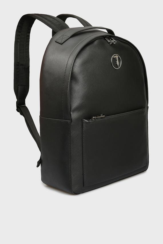 Мужской черный рюкзак LIBECCIO