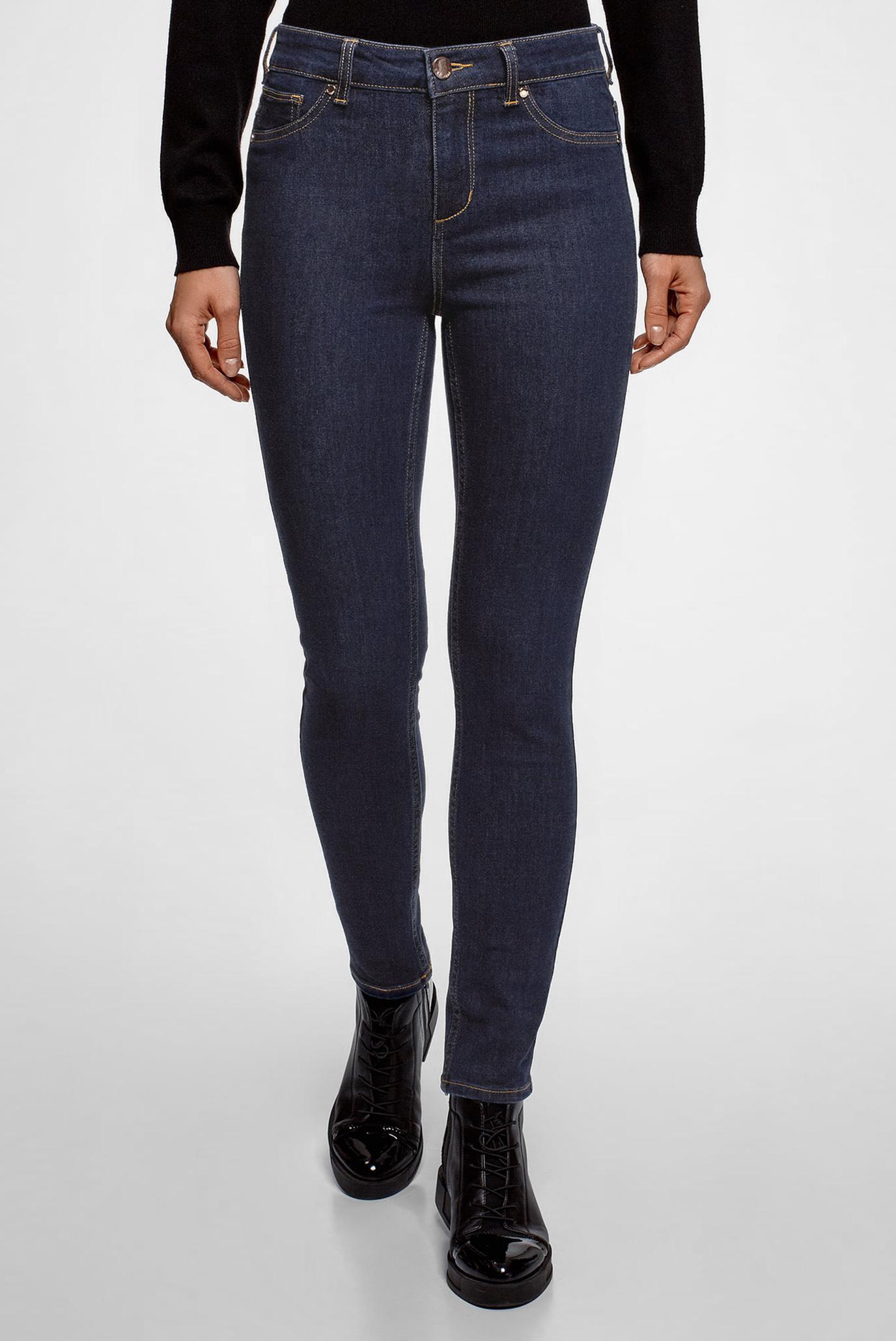 Купить Женские синие джинсы скинни Oodji Oodji 12104065-1B/46734/7900W – Киев, Украина. Цены в интернет магазине MD Fashion