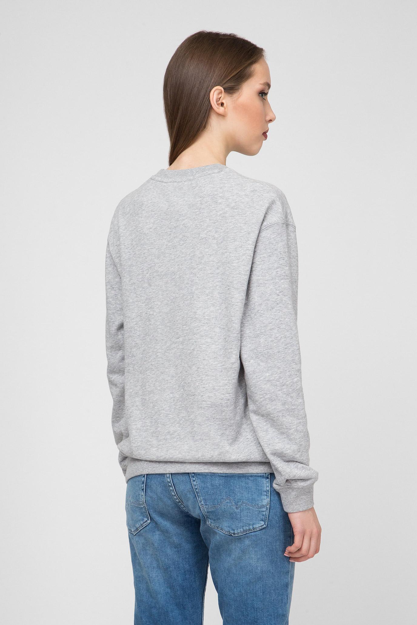 Купить Женский серый свитшот POPPY Pepe Jeans Pepe Jeans PL580832 – Киев, Украина. Цены в интернет магазине MD Fashion