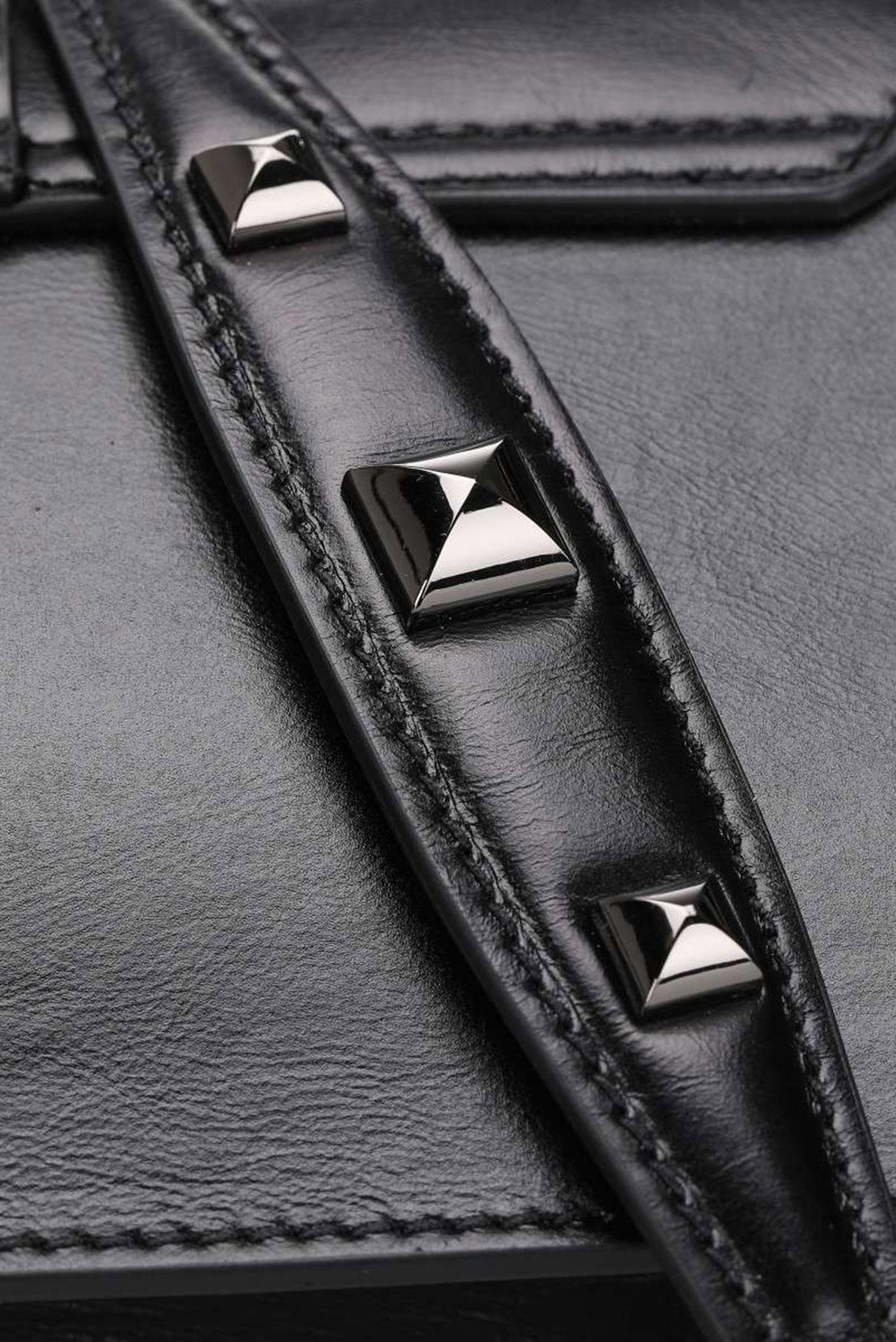 Женская черная сумка BORSA Patrizia Pepe