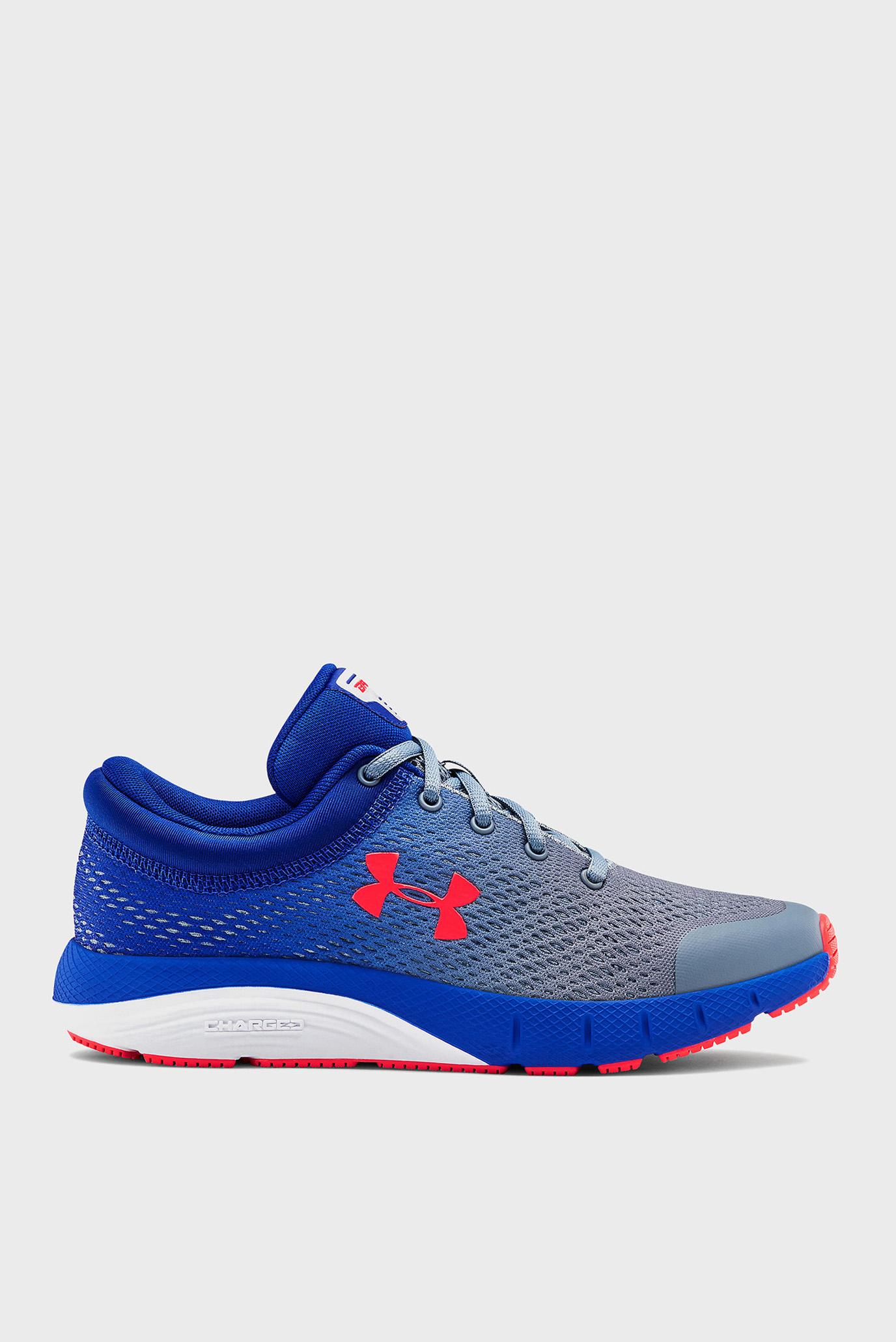 Дитячі сині кросівки UA GS Bandit 5-BLK 1