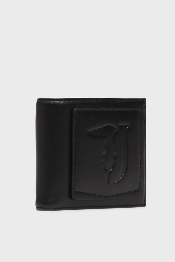 Мужской черный кошелек TICI