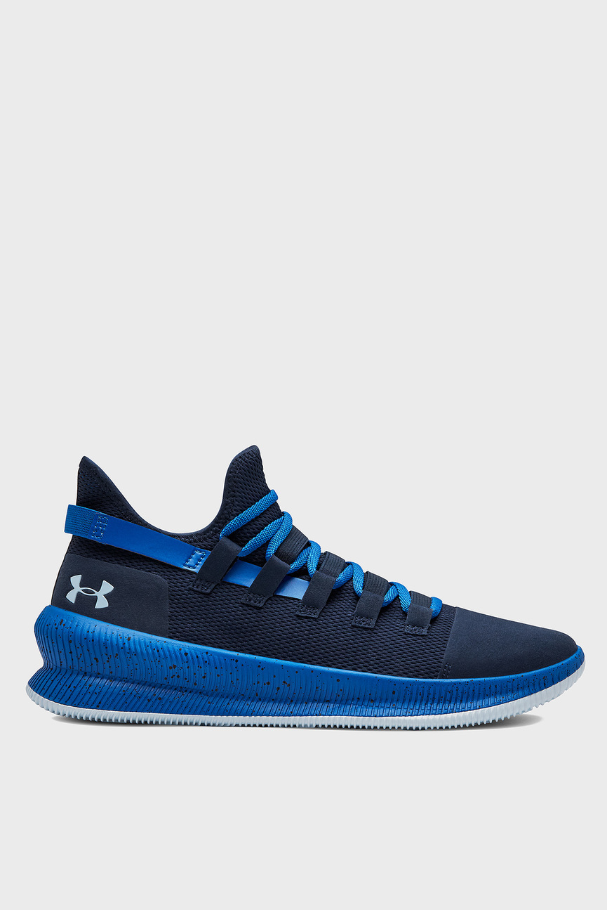 Мужские синие кроссовки для баскетбола UA M-TAG Low