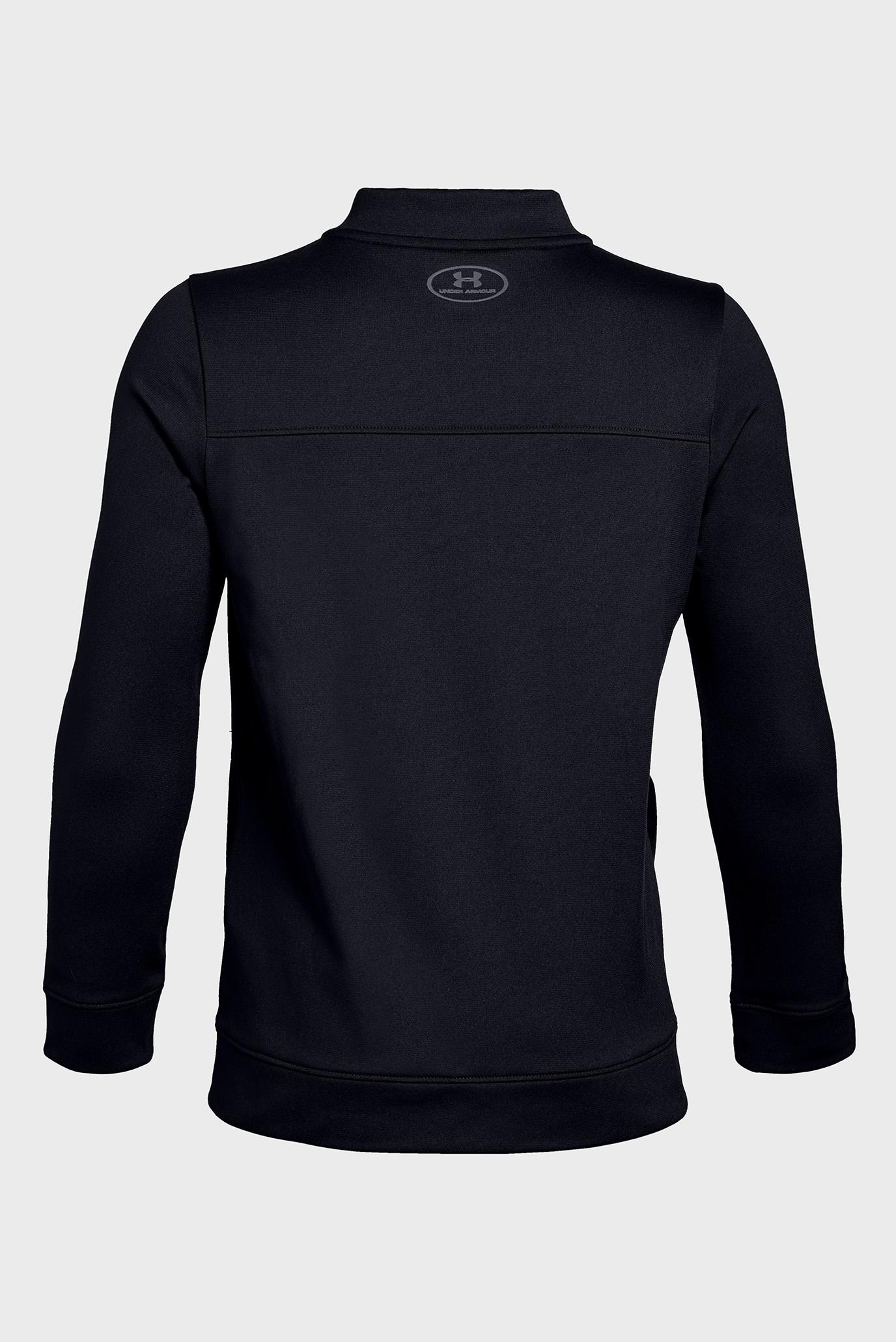 Детская черная кофта UA Pennant Jacket 2.0 Under Armour