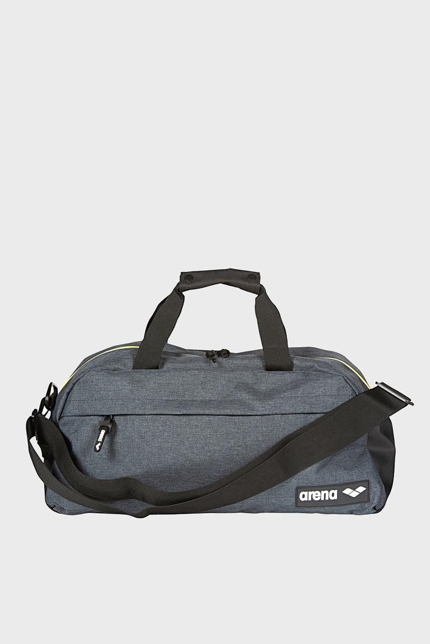 серая спортивная сумка TEAM DUFFLE 25