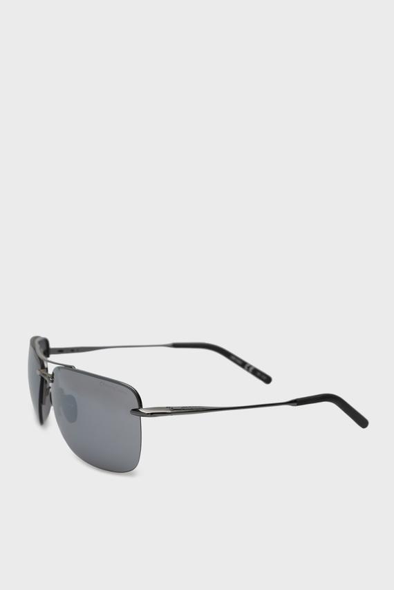 Черные солнцезащитные очки Cluu