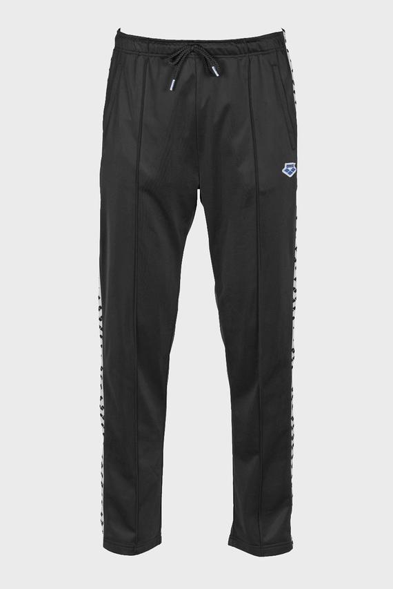 Мужские черные спортивные брюки SPLIT SIDE TEAM PANT