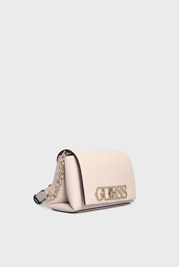 Женская светло-сиреневая сумка через плечо