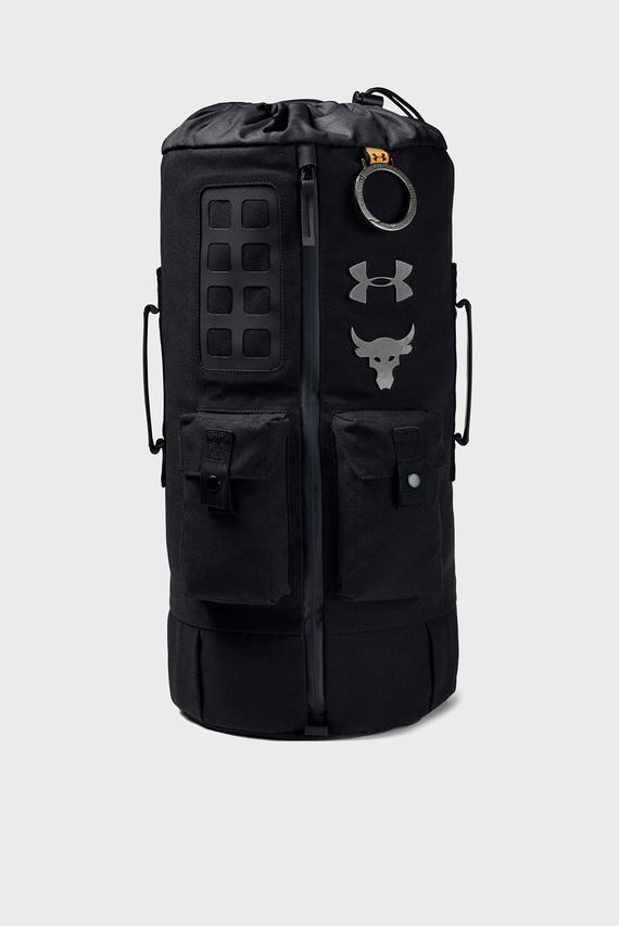 Черный рюкзак UA Project Rock 60 Gym Bag