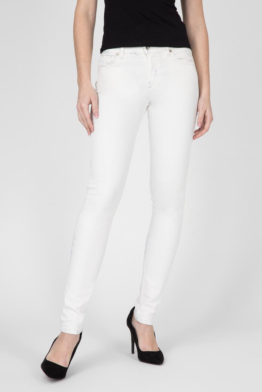 Женские белые джинсы SLANDY