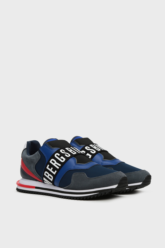 Мужские синие кроссовки HALED