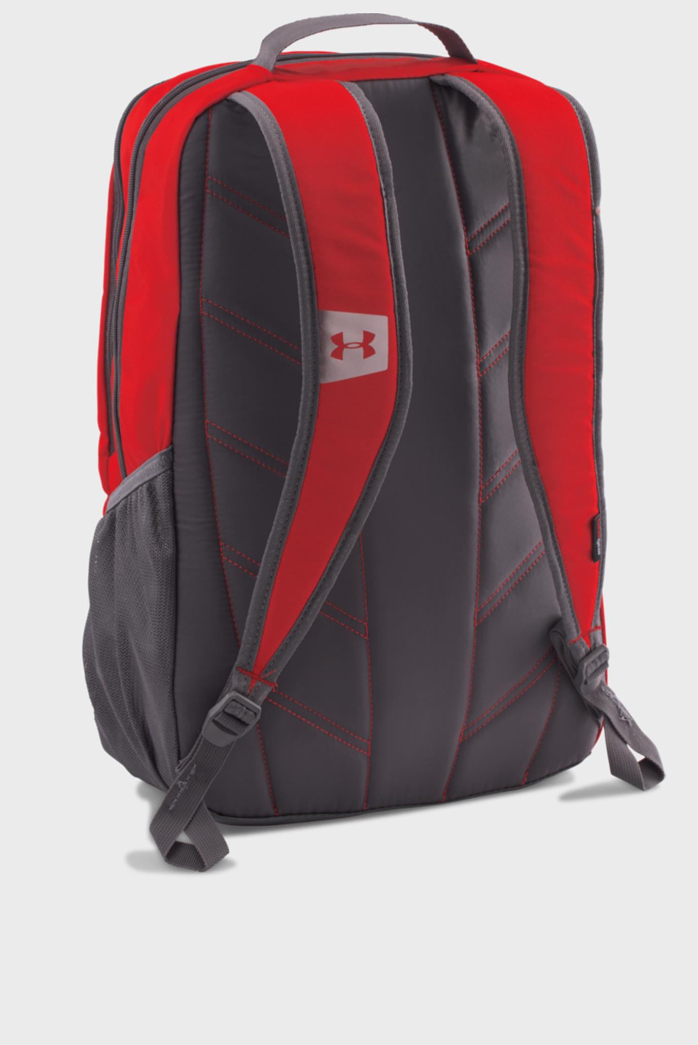 Мужской красный рюкзак UA Hustle Backpack LDWR Under Armour