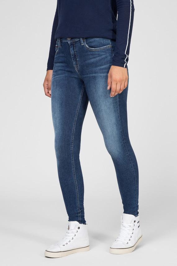 Женские темно-синие джинсы MID RISE SKINNY NORA ORM
