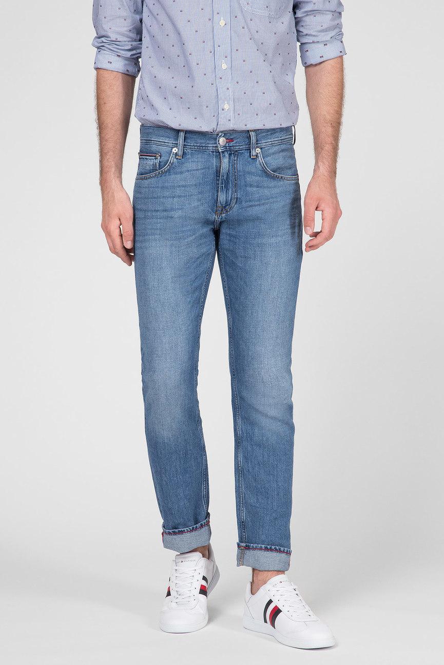 Мужские голубые джинсы STRAIGHT DENTON RGD BOWLING