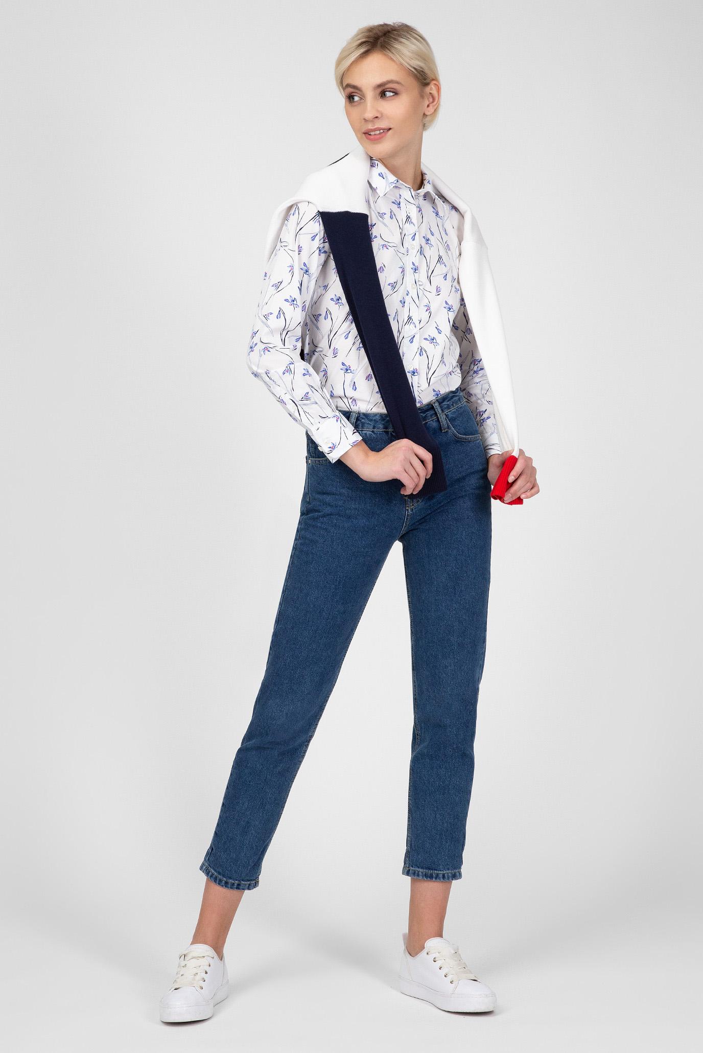 Купить Женская белая рубашка с принтом Gant Gant 4320065 – Киев, Украина. Цены в интернет магазине MD Fashion