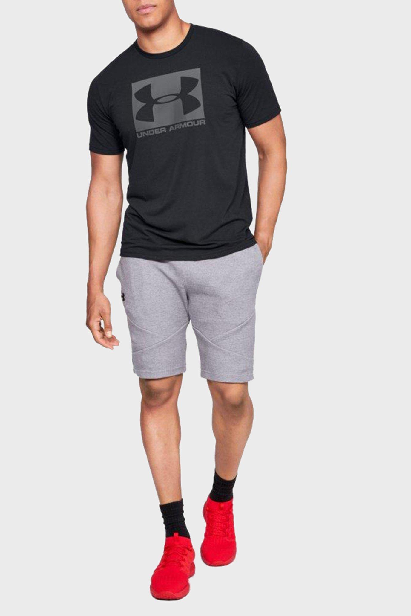 Купить Мужская черная футболка UA Boxed Sportstyle SS Under Armour Under Armour 1329581-001 – Киев, Украина. Цены в интернет магазине MD Fashion