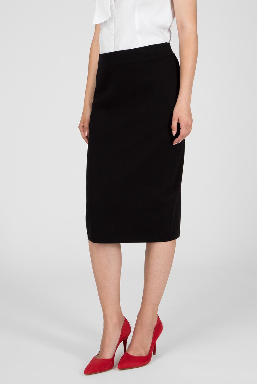 Женская черная юбка ROCK