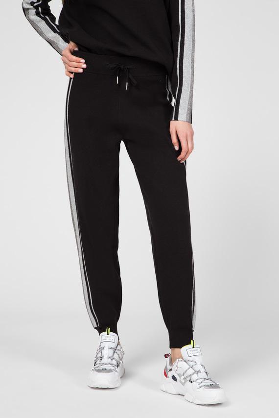 Женские черные спортивные брюки CACIE