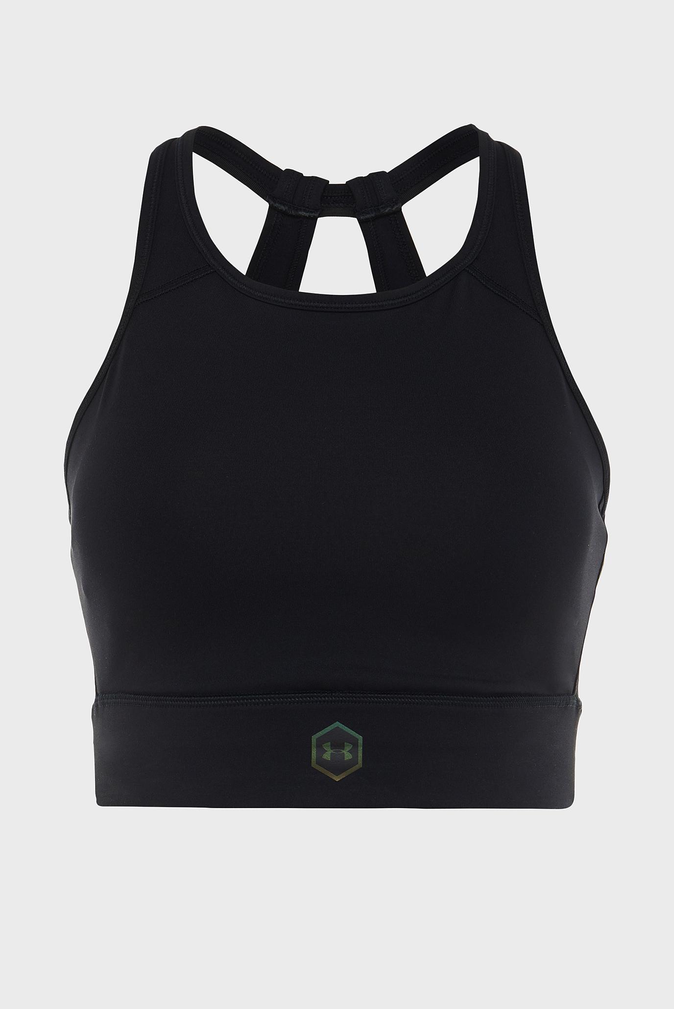 Купить Женское черное спортивное бра UA Rush Under Armour Under Armour 1332483-001 – Киев, Украина. Цены в интернет магазине MD Fashion