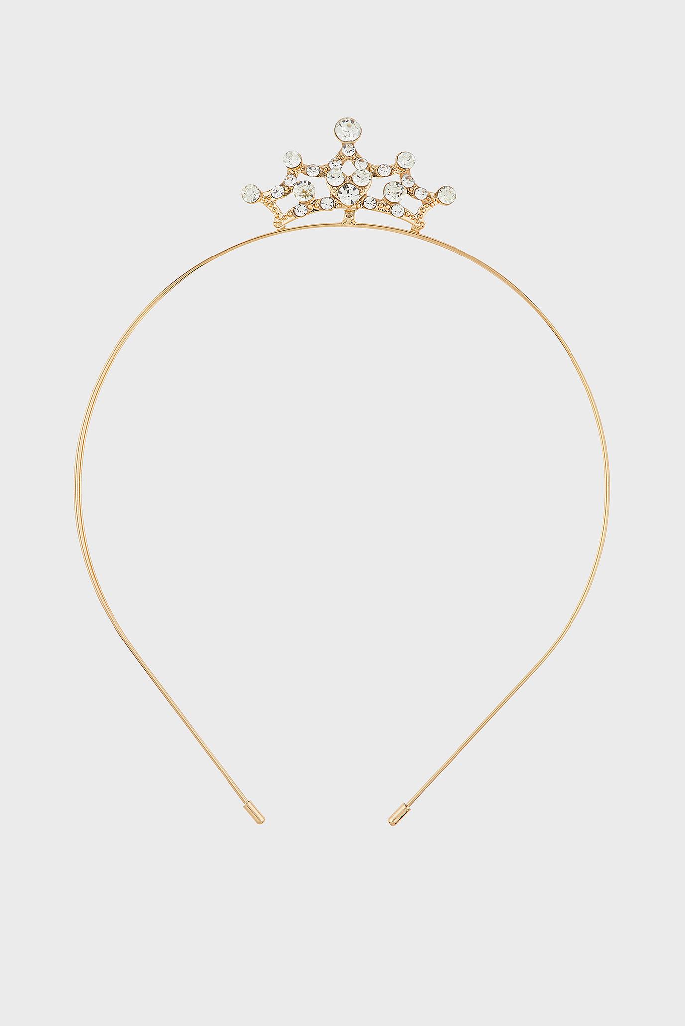 Купить Детский золотистый обруч GOLD TIARA ALICE  Accessorize Accessorize 683193 – Киев, Украина. Цены в интернет магазине MD Fashion