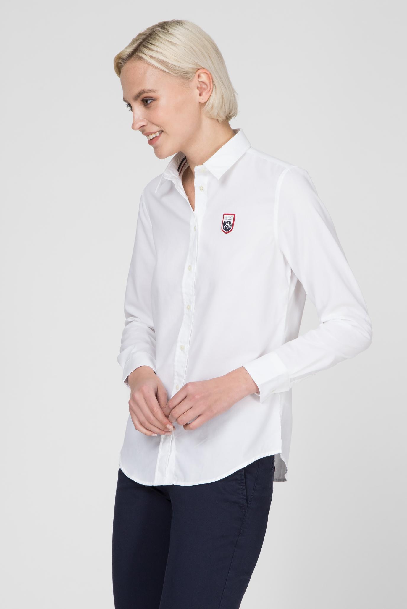 Купить Женская белая рубашка OXFORD Gant Gant 4311070 – Киев, Украина. Цены в интернет магазине MD Fashion