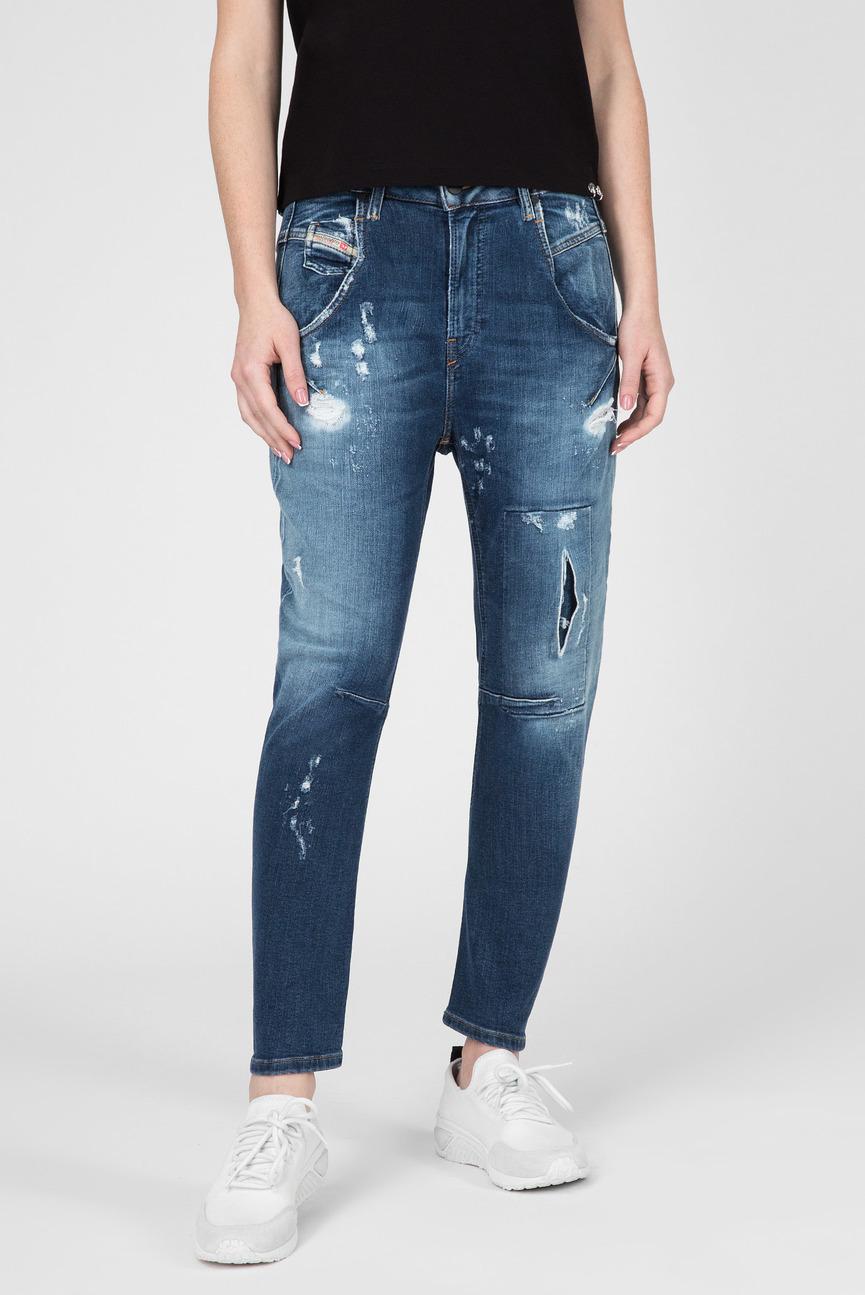 Женские синие джинсы FAYZA-T